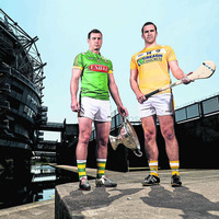 Antrim ace Conor Carson is eager to get back to Croke Park
