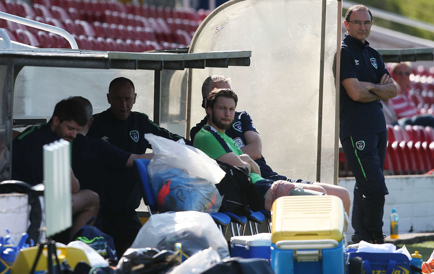 Harry Arter out of running for Euro squad spot