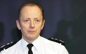 Hugh Orde: Theresa Villiers has 'her head stuck in a peat bog' on border control