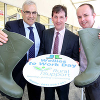 Charity urges workers to wear wellies to office