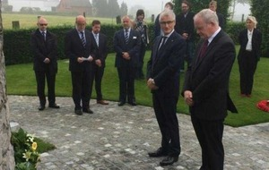 McGuinness visits WWI battlefields and tells of hopes for reconciliation