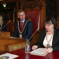 Belfast city council elects first openly gay deputy mayor