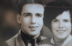 Tommy's teenage love affair would stay strong for 64 years