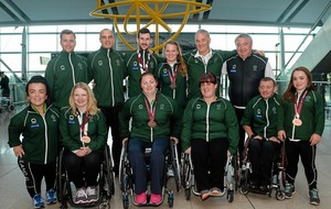 Strong Irish team announced for Paralympic European Championships