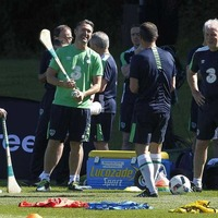 Jon Walters & Robbie Keane sit out training