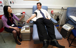 DUP ministers did not oppose lifting of gay blood ban