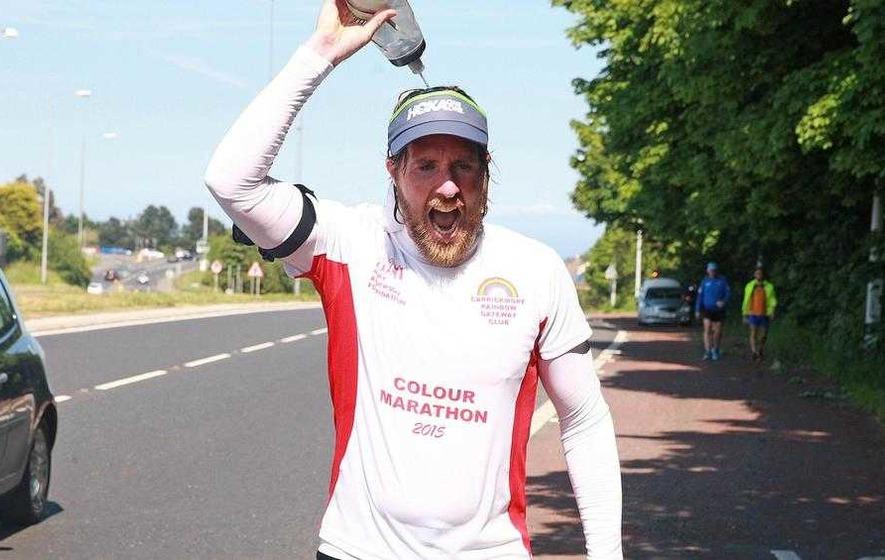Armagh man Stevie begins 60 marathons in 60 days