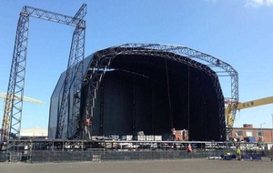 Music fans hoping sun keeps shining as Belsonic festival comes to town