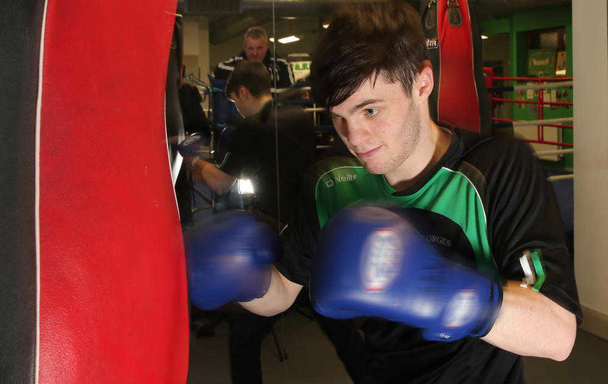 Market's James McGivern hopes he can be Michael Conlan's heir