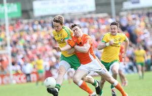 Hugh McFadden puts up his hand for Donegal starting spot