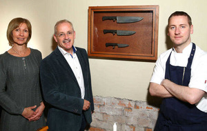 Game of Thrones `Valyrian Steel' knives create banquet worthy of Westerosi knights at Ox Belfast