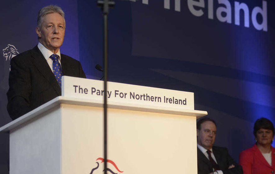Peter Robinson: Former first minister gets back into business