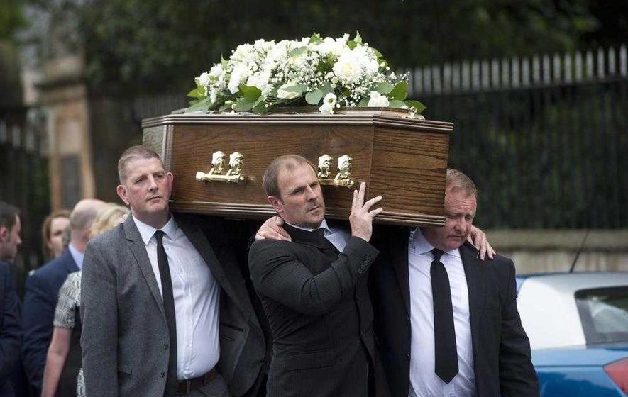 Funeral of leading loyalist William 'Plum' Smith held in Belfast