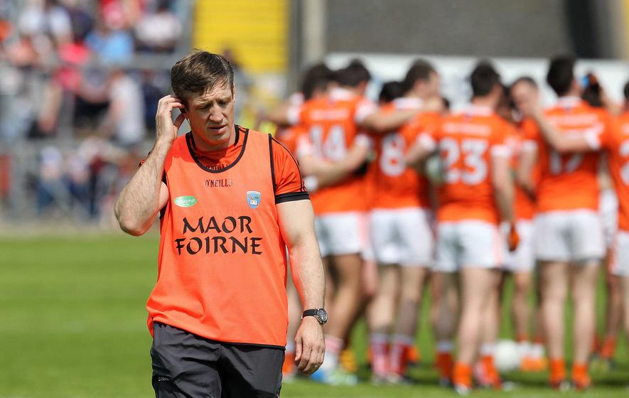 Injury concerns are uppermost in Kieran McGeeney's mind