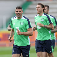 Republic of Ireland's Jon Walters could be fit to face Sweden