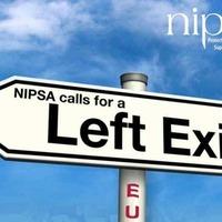 Nipsa publishes campaign leaflet backing an EU exit