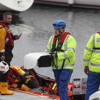 Hopes fade for missing air crash pair off Antrim coast