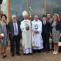 Bishop Noel Treanor says ordination of new priest a 'day of hope' for Down and Connor