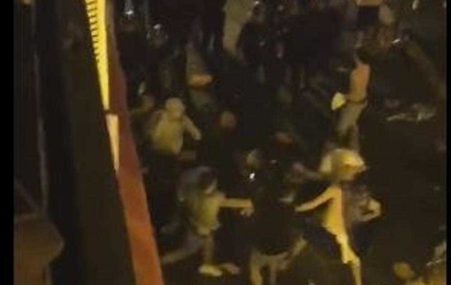 Six Northern Ireland fans injured as violence breaks out at bar in Nice