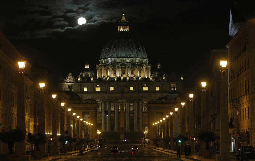 Irish pilgrims on visit to seven churches in Rome