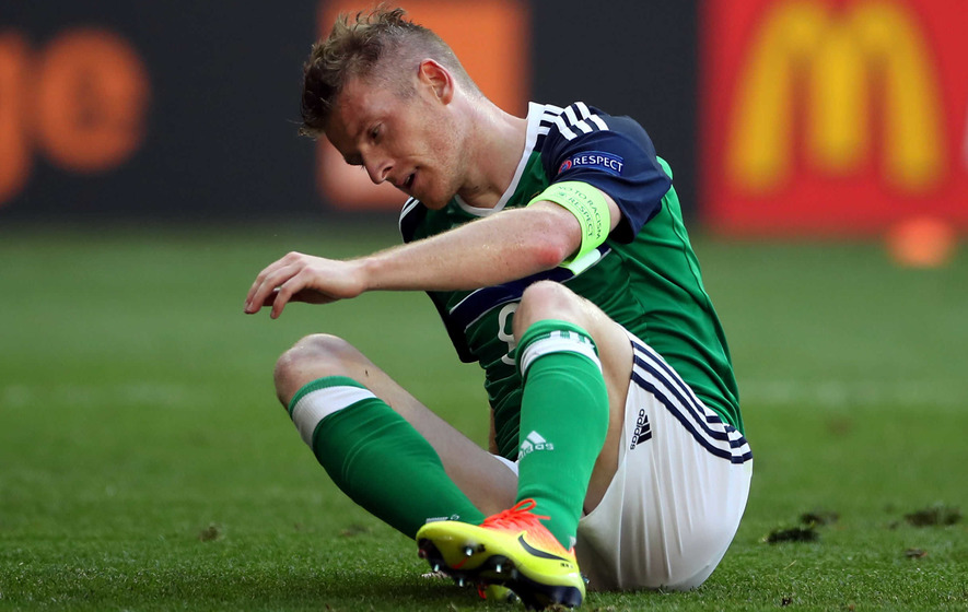 Northern Ireland lost their self-belief in defeat - Steven Davis
