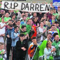 Euro 2016: Ireland fans' nerves tested at Titanic slipways