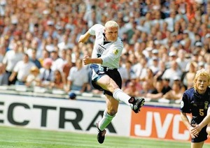 On This Day - June 15 1996: Paul Gascoigne fires England top of their group at Euro 96