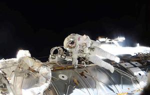 Astronaut Tim Peake prepares to come down to Earth