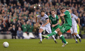 Jonathan Walters a doubt for Republic of Ireland's clash with Belgium
