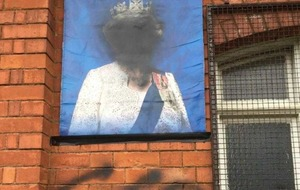 Queen's portrait defaced in sectarian attack on Derriaghy Orange Hall