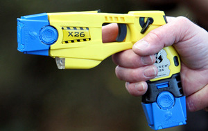 Man dies after being shot with police Taser