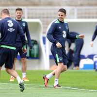 Robbie Brady is desperate to prolong the Euro 2016 party