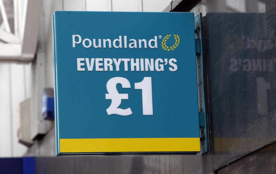 Poundland pre-tax profits plunge to £37.8m