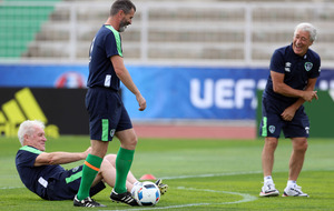 Ireland won't be intimidated by Belgium insists Roy Keane