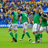 Niall McGinn revels in scoring decisive goal in historic Northern Ireland win