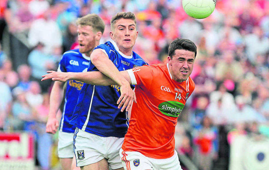 Armagh set to earn All-Ireland replay as a result of Laois' seven subs