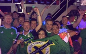 Watch: Jimmy Nesbitt parties into the night after Northern Ireland victory