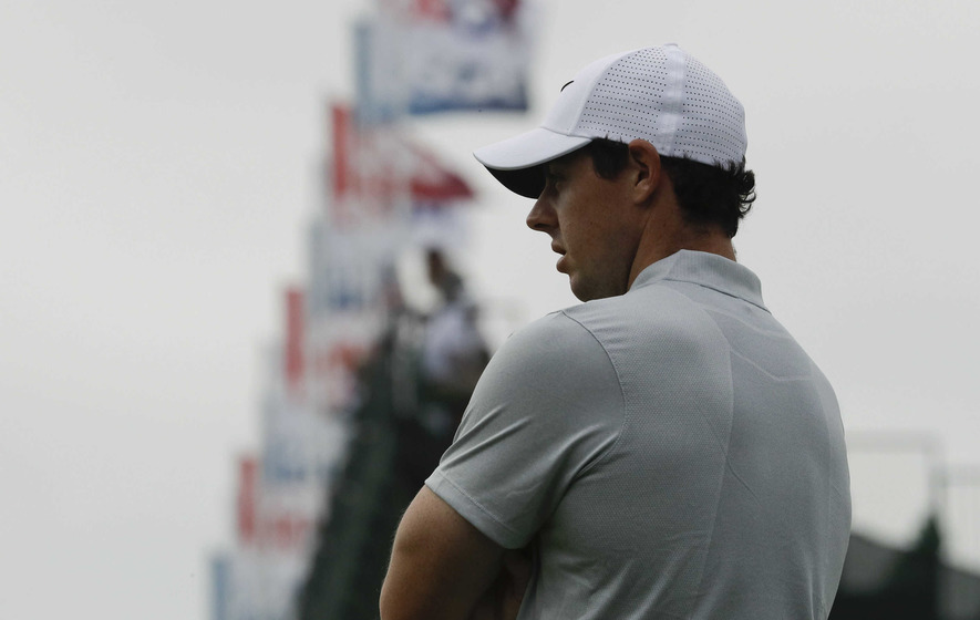 Rory McIlroy vows to take more aggressive approach after struggling at Oakmont