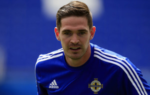 Striker Kyle Lafferty delighted with Northern Ireland display against Ukraine