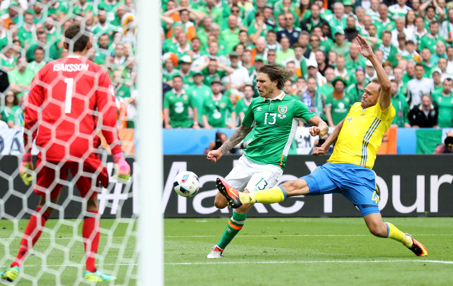 Republic of Ireland's Jeff Hendrick promises positive approach against Belgium