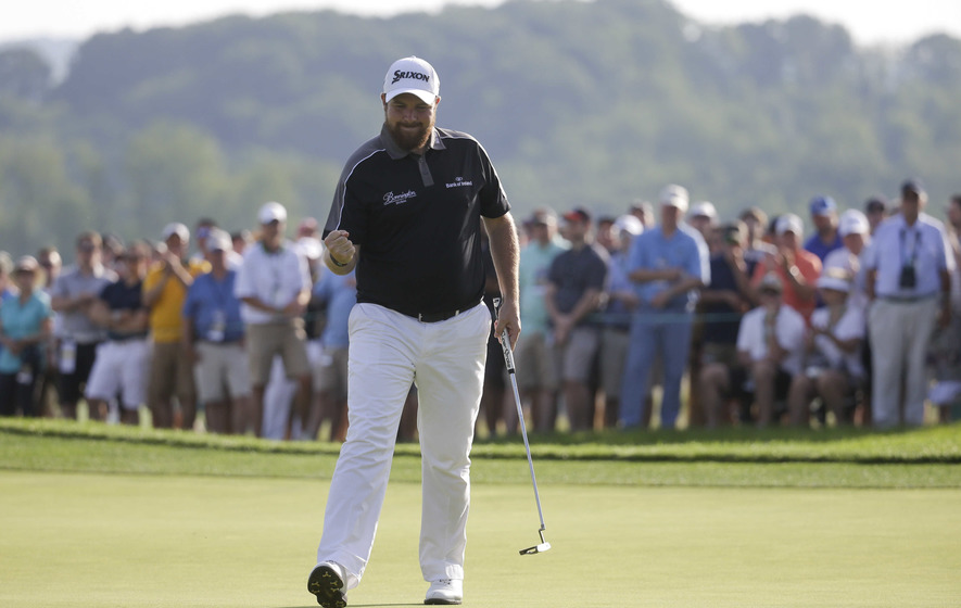 Offaly's Shane Lowry carves out a two-shot lead at US Open