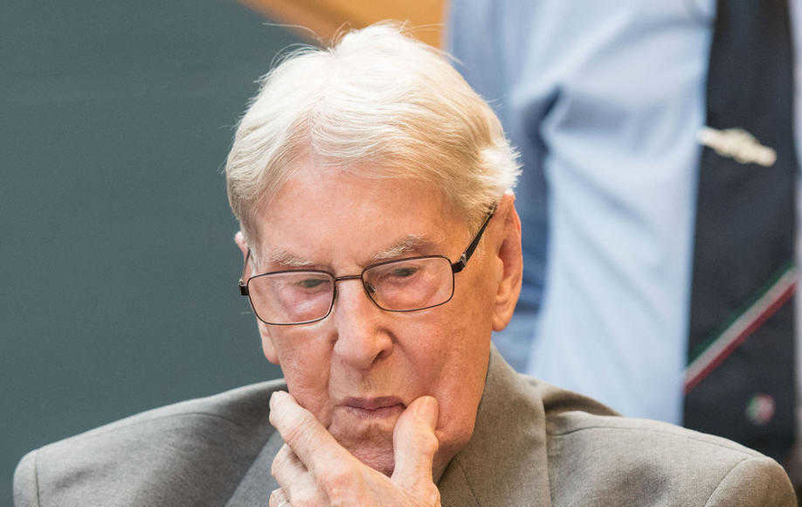 Former Auschwitz guard Reinhold Hanning  (94) jailed for five years