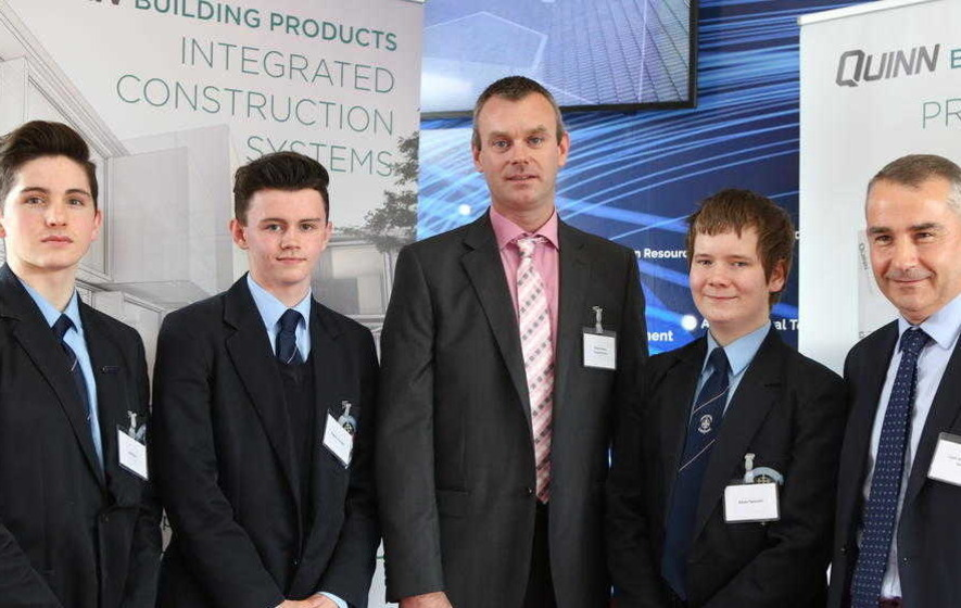 Quinn Industrial Holdings works with school to combat Fermanagh brain drain