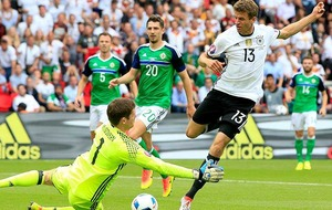 In Pictures: Germany 1 Northern Ireland 0