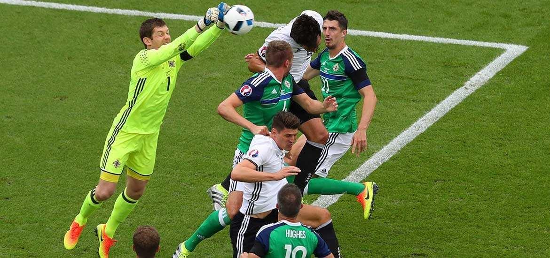 a3ab70eb58 Beaten Northern Ireland heap praise on keeper Michael McGovern - The ...