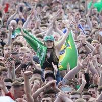 Northern Ireland fans in high spirits as team reaches last 16