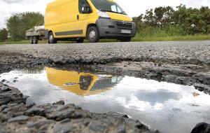 More than 110,000 potholes on roads across Northern Ireland