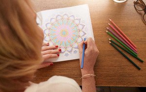 Why colouring in books can be good for grown ups