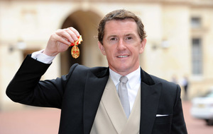 Tony McCoy feared 'sword would slip' at knighthood ceremony