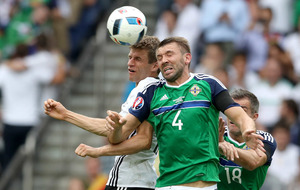 Gareth McAuley has nothing but praise for 'impossible' Germany